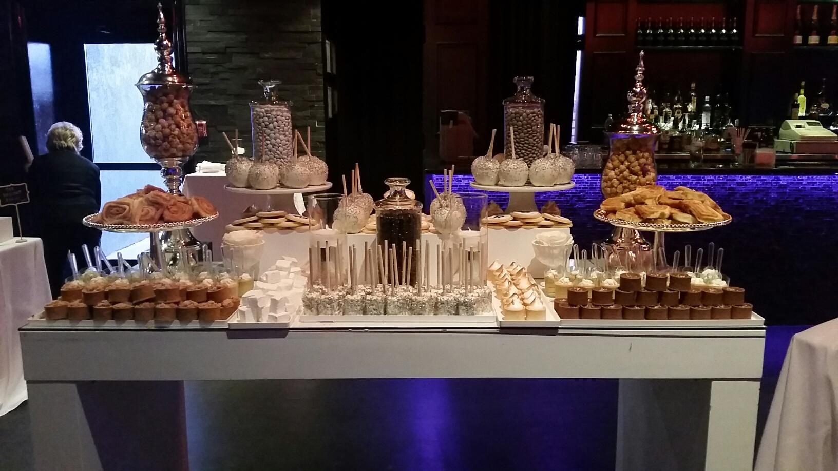 Custom Dessert Tables Double Chocolate Fountain