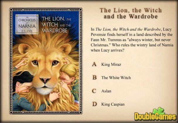 Narnia Games  Trivia Challenge Online Game     Free Download Narnia Games  Trivia Challenge Screenshot 3