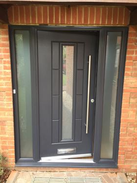 Grey Flush Aluminium Windows Amp Patio Doors In Bicester