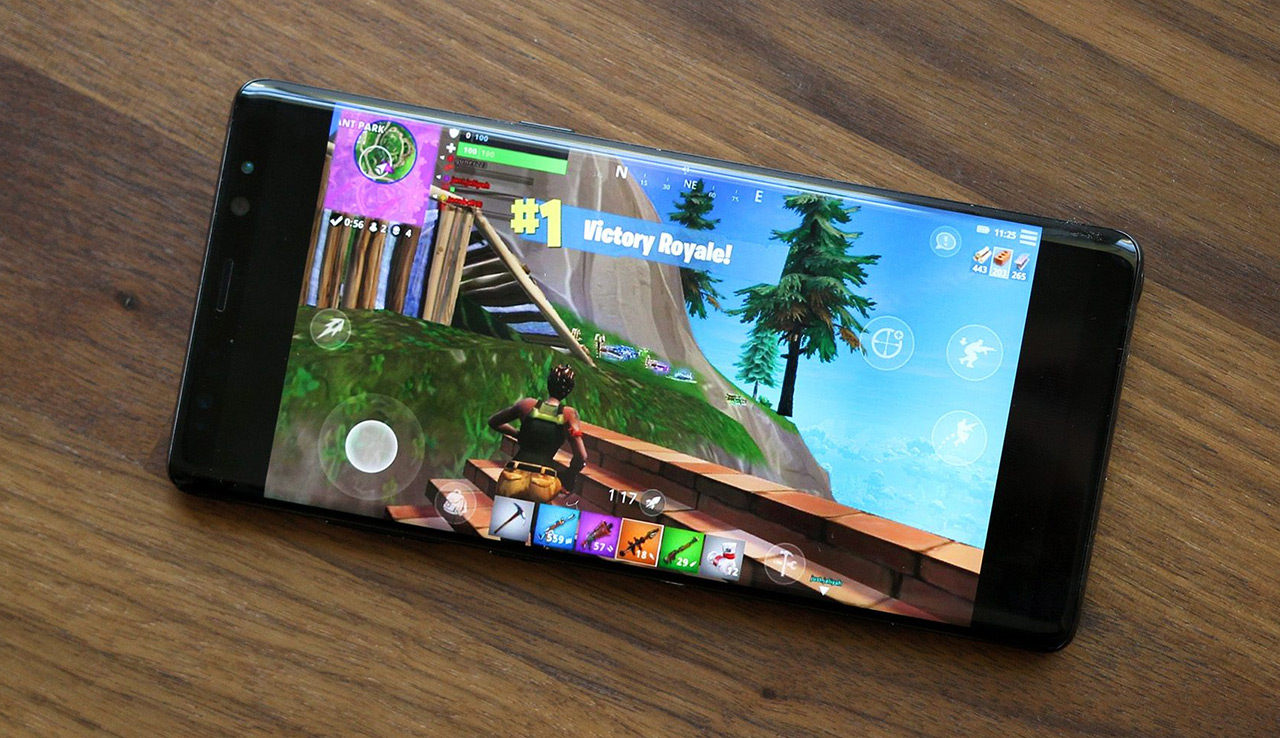 Fortnite on an Android phone