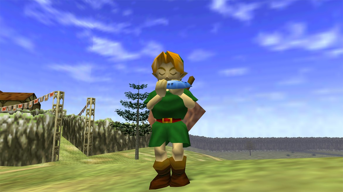 Link from The Legend of Zelda: Ocarina of Time