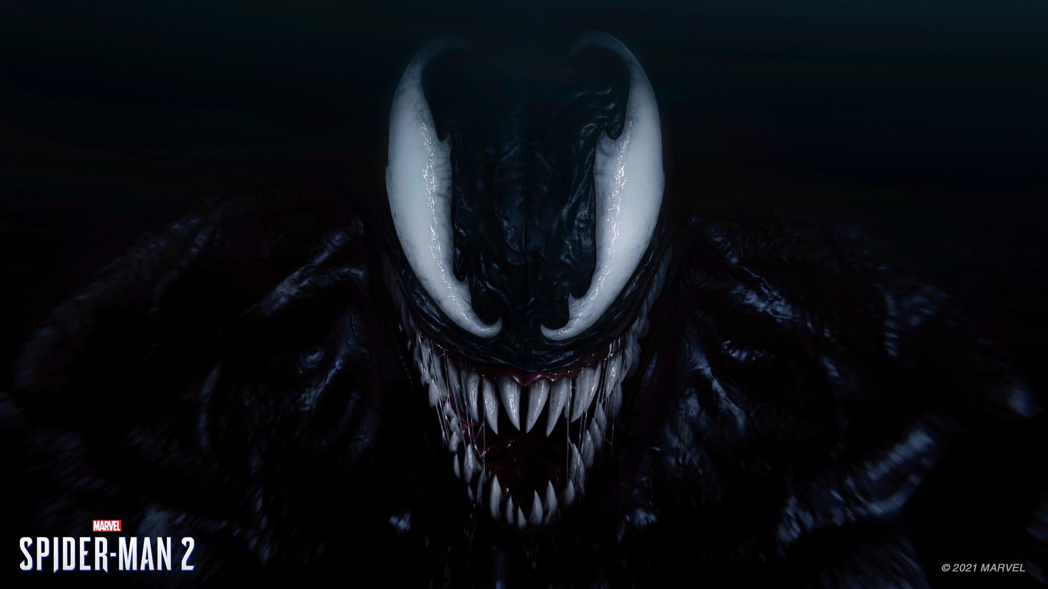 Venom from Marvel's Spider-Man 2