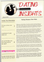 Dating Insights Newsletter Jul 2014