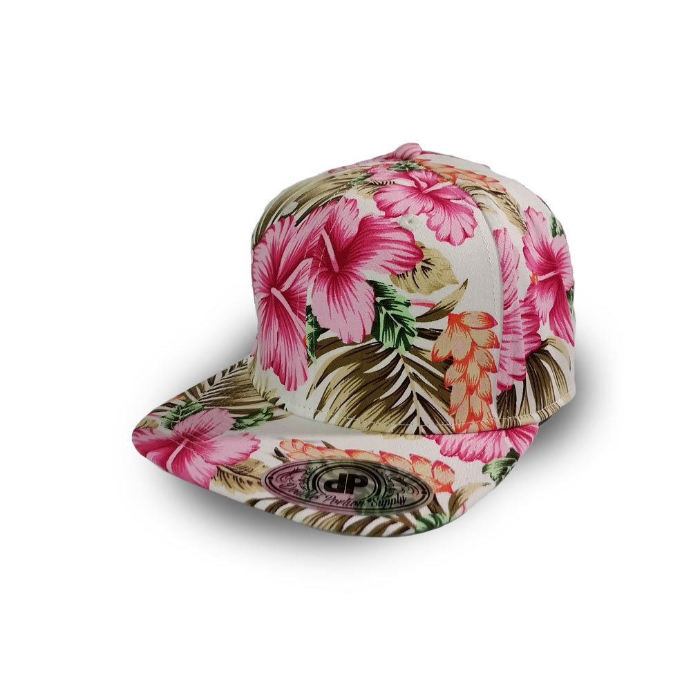 be7c39989f7 Home   All Hats   Snapbacks   All Snapbacks   Blank Hat Snapback Flatbill   Full Pink Floral