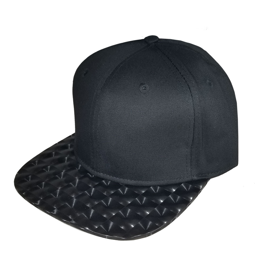 Black-Hologram-Bill-Snapback-Hat