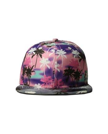 Pink-Palms-Snapback