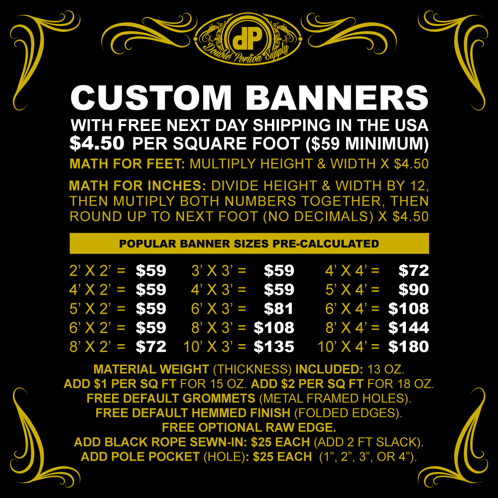 Banners-PRICING