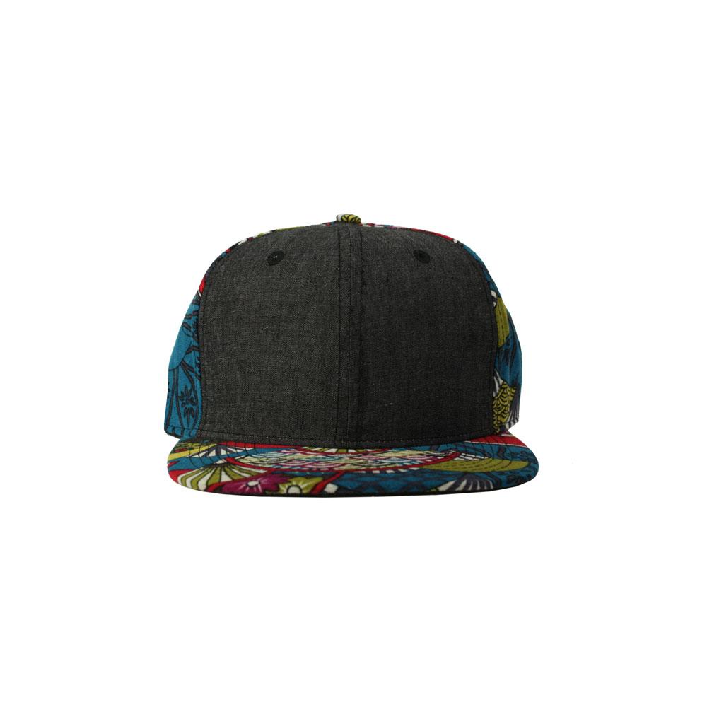 4f83242eec65b Home   All Hats   Snapbacks   Pattern Snapbacks   Blank Hat Snapback  Flatbill  Black Denim   Sushi
