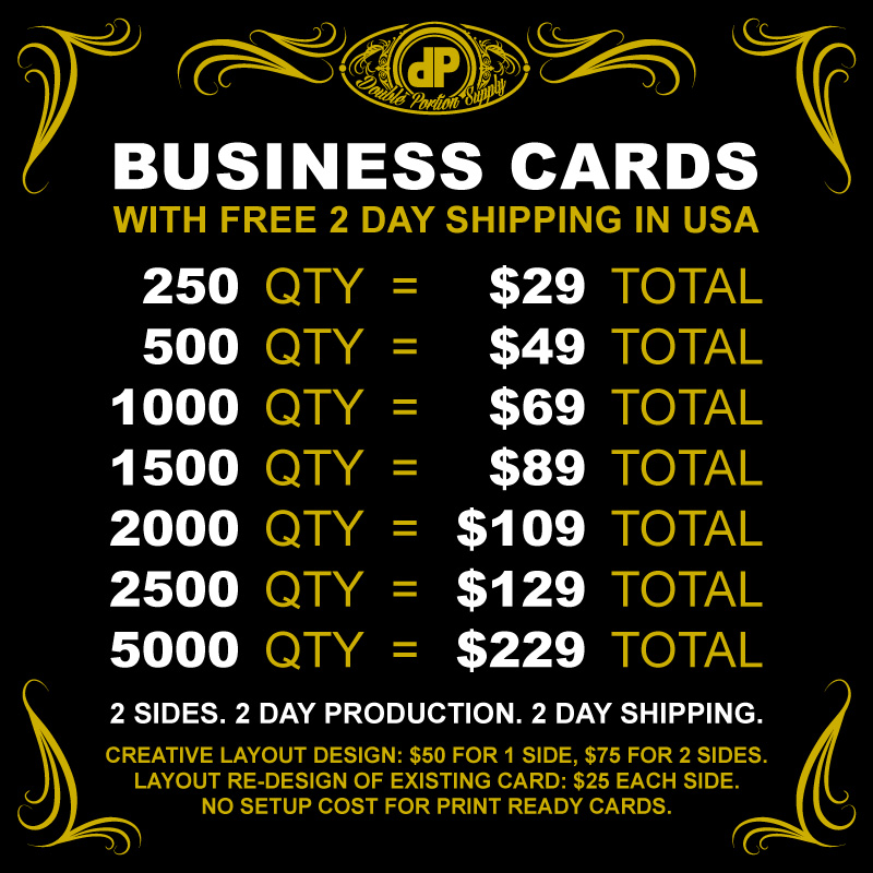 Business-Cards-PRICING