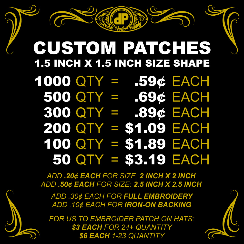 Patches-PRICING