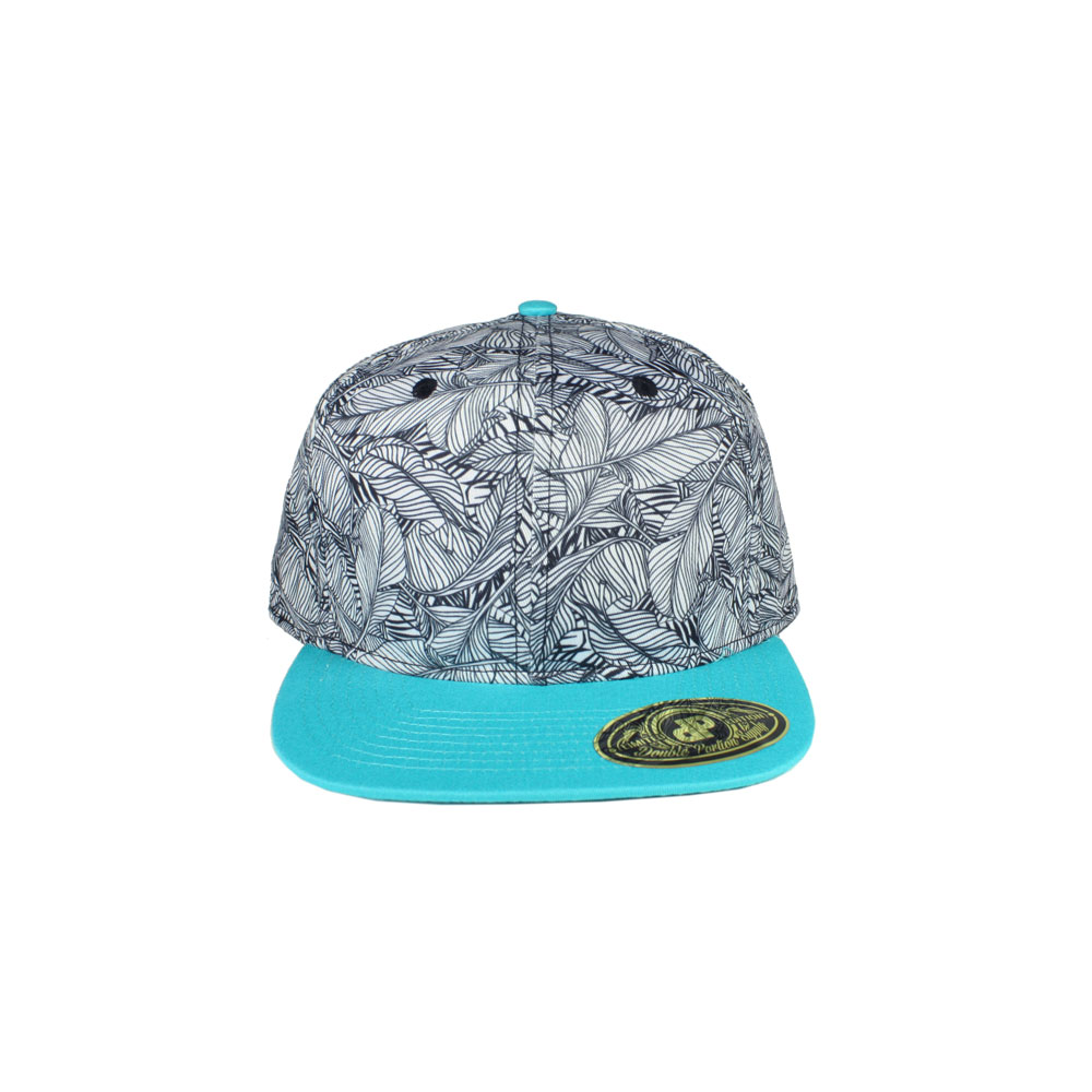 7e75039c8cf Home   All Hats   Snapbacks   All Snapbacks   GALLERY Banana Leaf   Turq  Flatbill Snapback