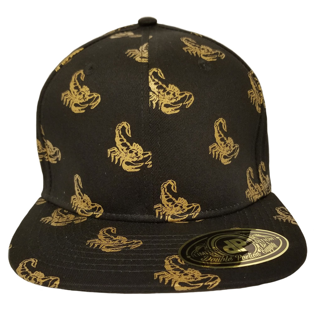 Golden-Scorpion-Hat-Snapback