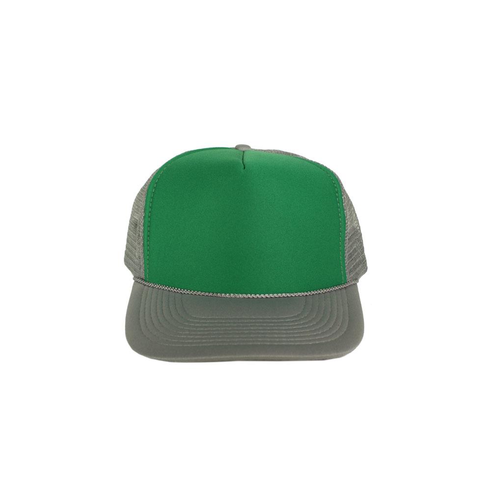 Green-Gray-Foam-Trucker