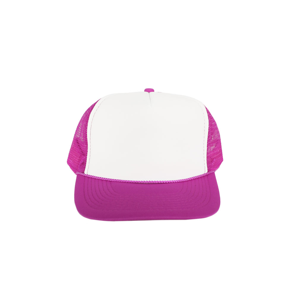 White-Hot-Pink-Foam-Trucker