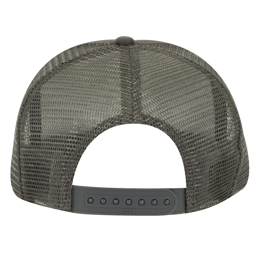 Charcoal Gray Youth Foam Trucker Back