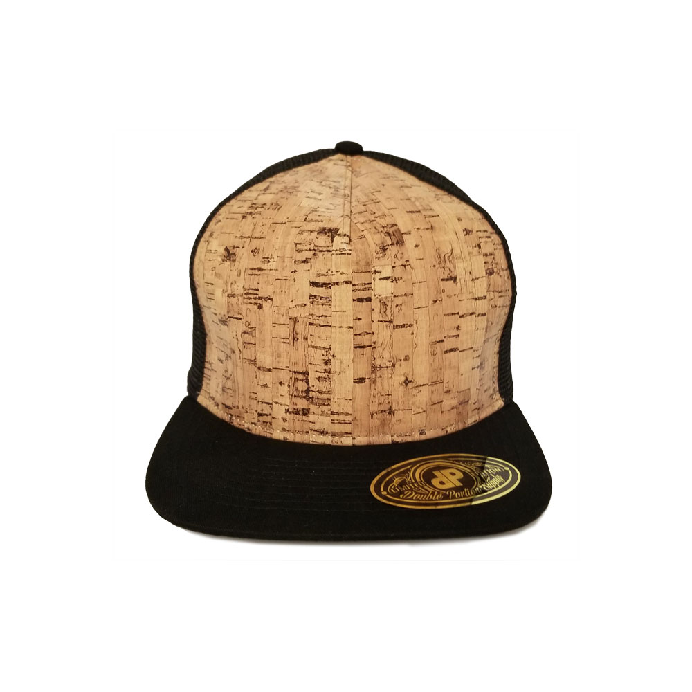 1d938049b2c Home   All Hats   Snapbacks   Pattern Snapbacks   Blank Hat  Cork   Black  Flatbill Snapback