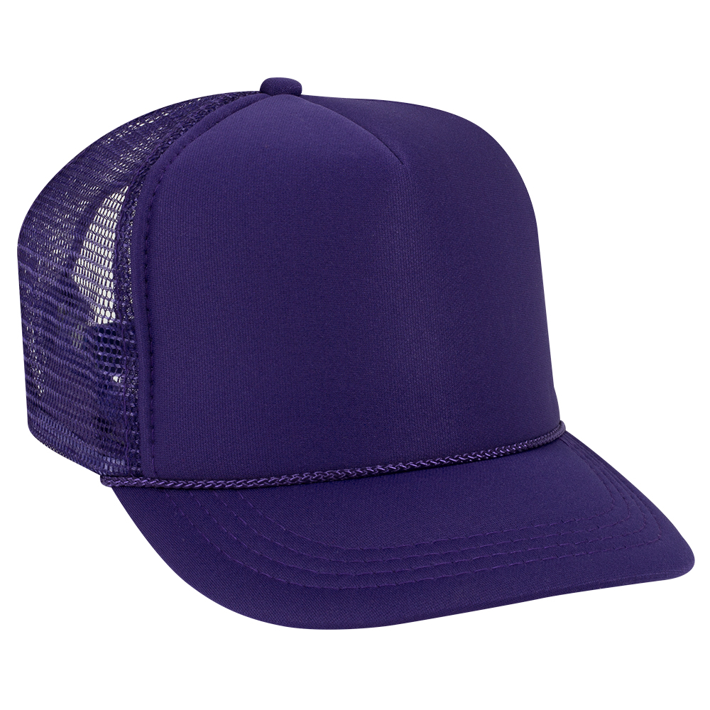 Purple Youth Foam Trucker Front