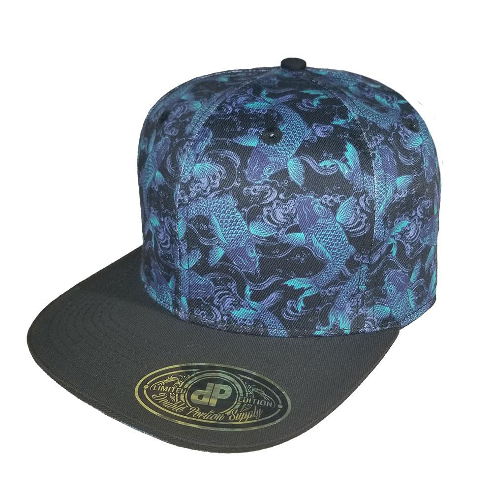Koi-Fish-Snapback-Hat