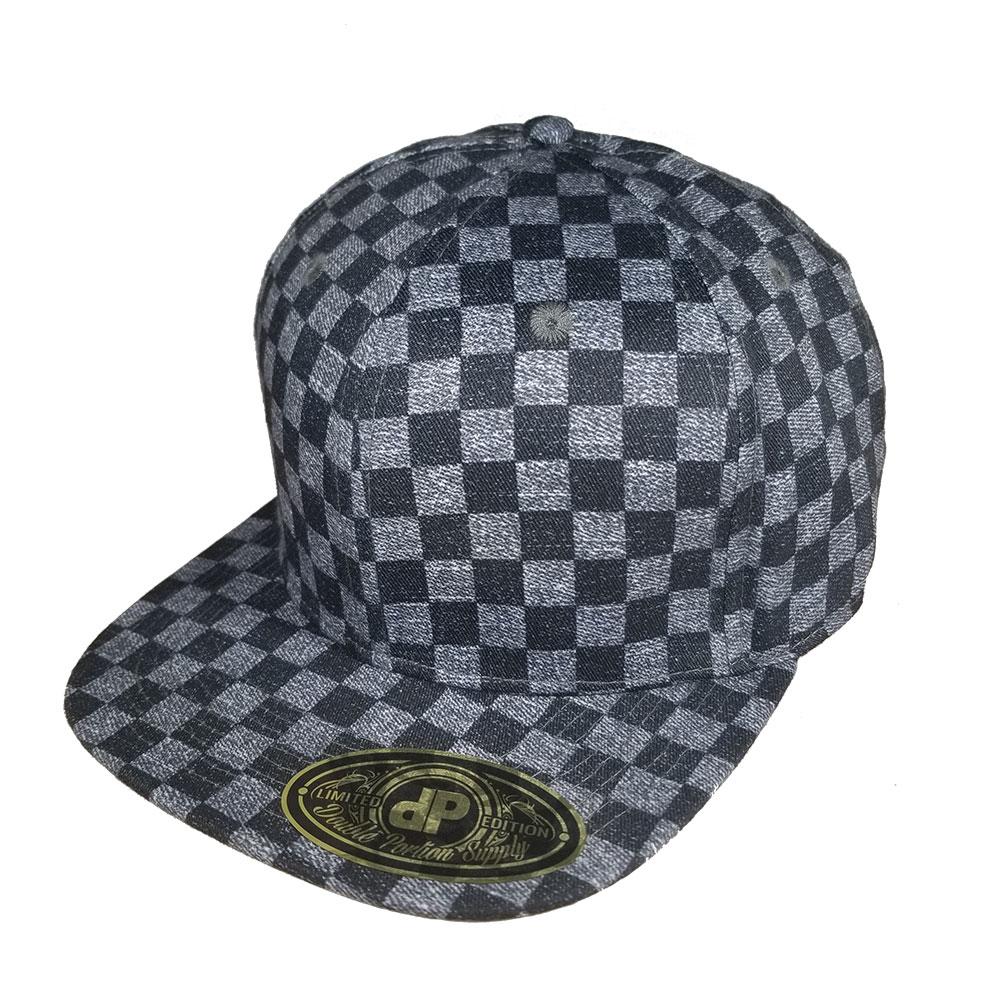 Vintage-Checkers-Snapback-Hat