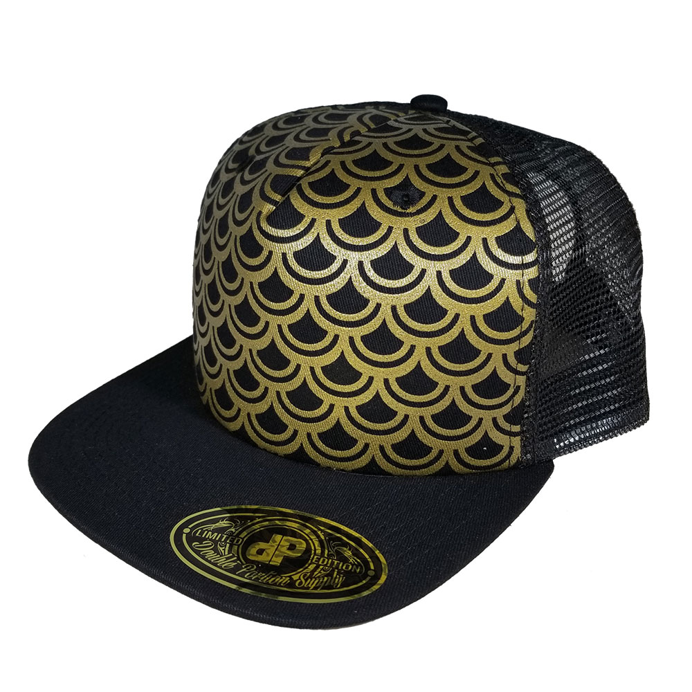 Scales-Gold-Black-Snapback-Hat