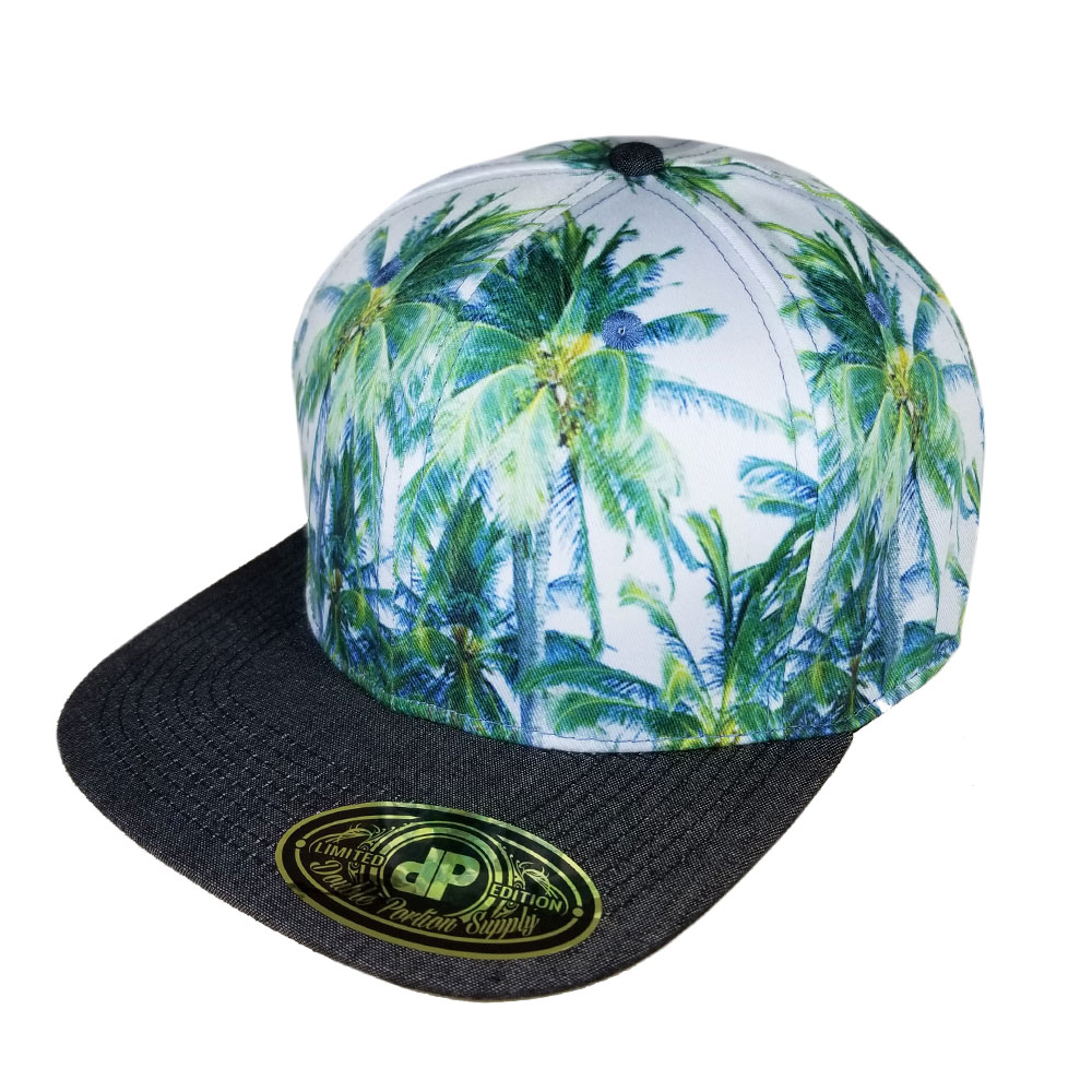 Palm-Trees-Denim-Bill-Snapback