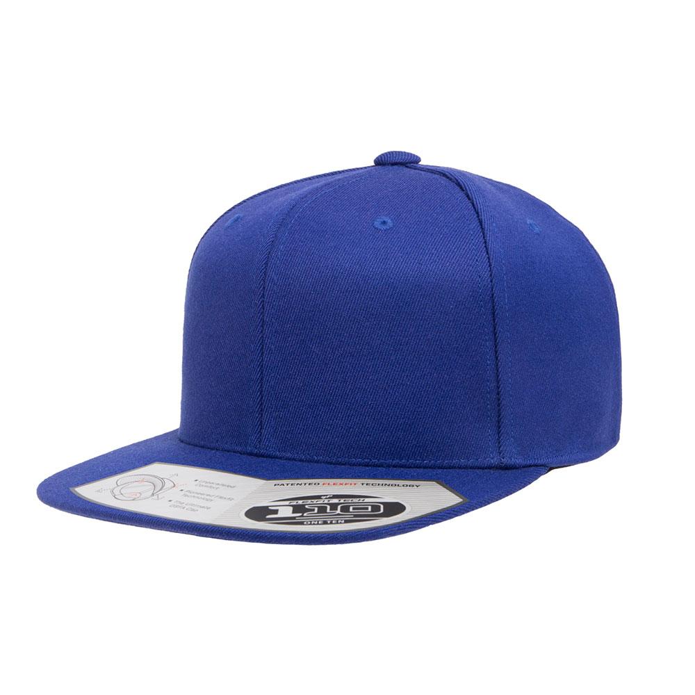 Flexfit-110F-Flatbill-Snapback-Royal-Hat