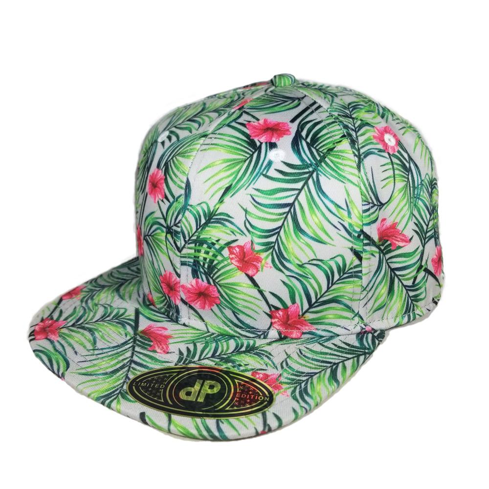 snapback-flatbill-palm-hibiscus-floral