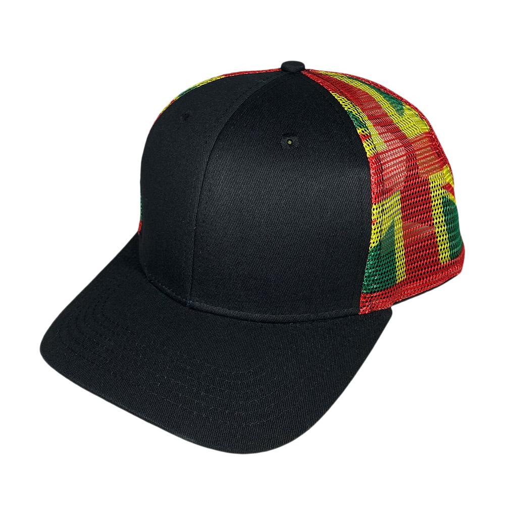 snapback-curved-bill-black-rasta-flag-mesh