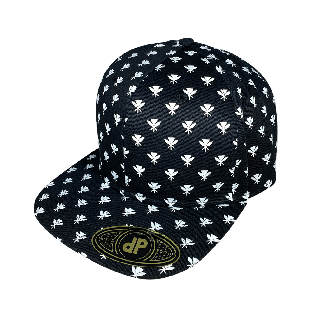 snapback-flat-bill-black-and-white-kahili