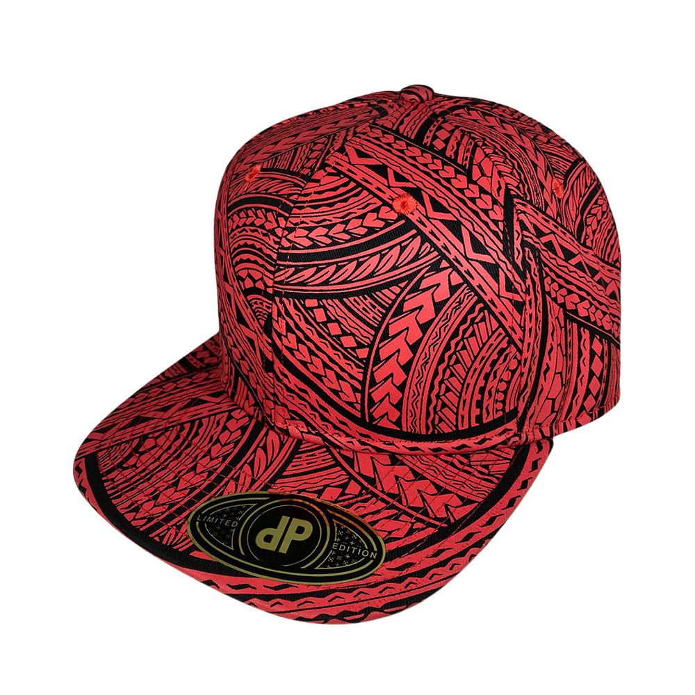 snapback-flat-bill-full-tribal-red-black
