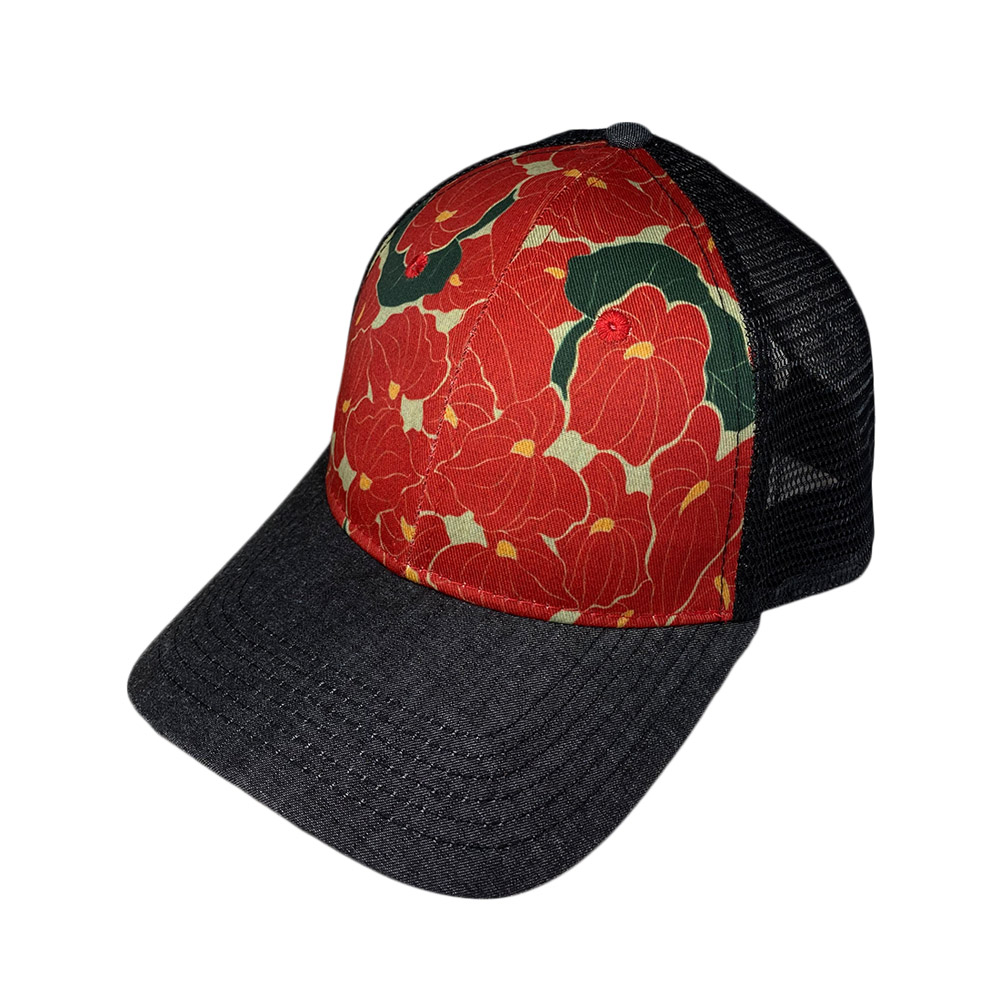 snapback-curved-bill-anthurium-curved-mesh-back