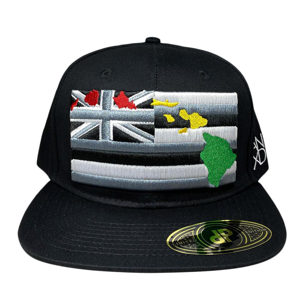 snapback-black-3d-rasta-hawaiian-flag