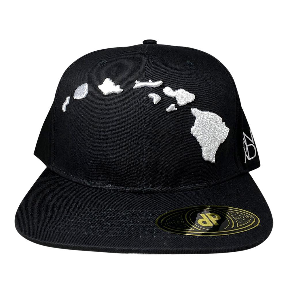 snapback-black-3d-white-hawaiian-islands