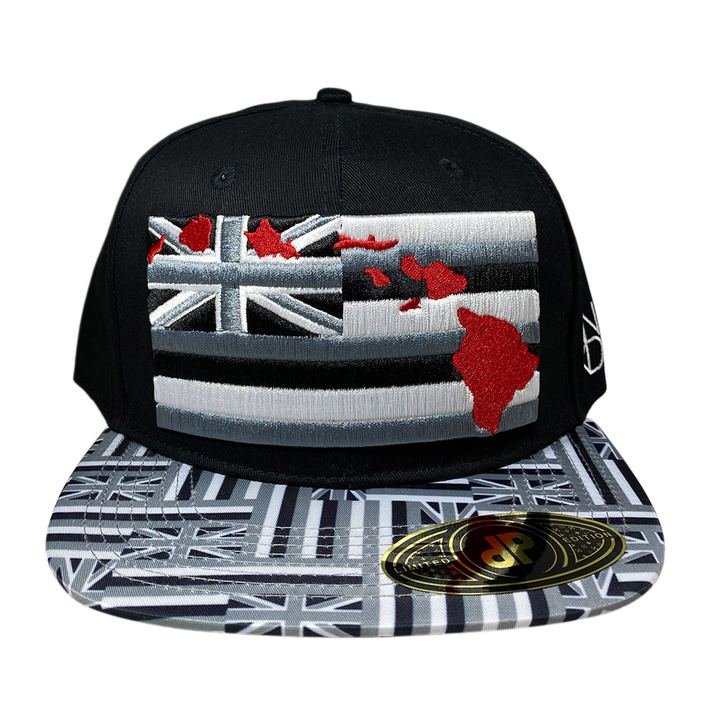 snapback-black-grey-hawaiian-flag-bill-red-islands-hawaiian-flag
