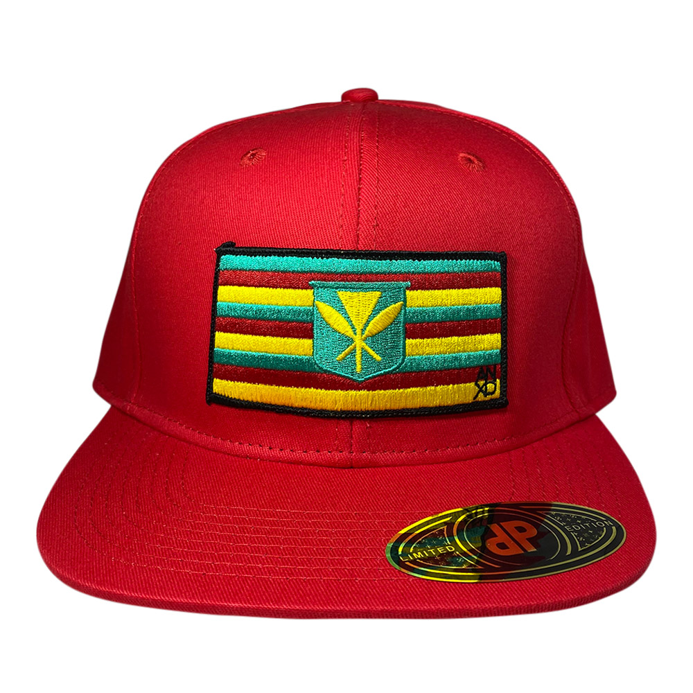 snapback-red-maoli-flag-patch