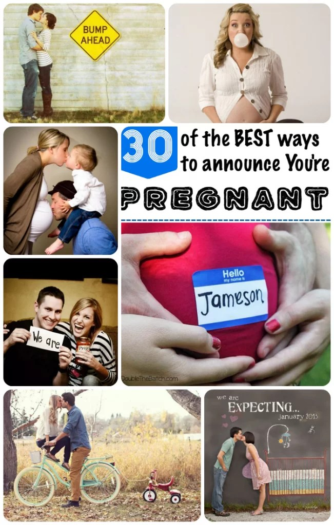 Great Ideas for announcing pregnancy!