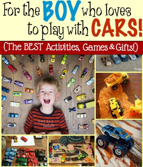 Car Games: The Best Activities And Gifts For Boys That Love To Play