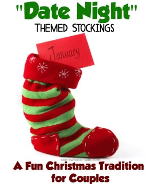 Such a creative idea for Christmas Stockings!