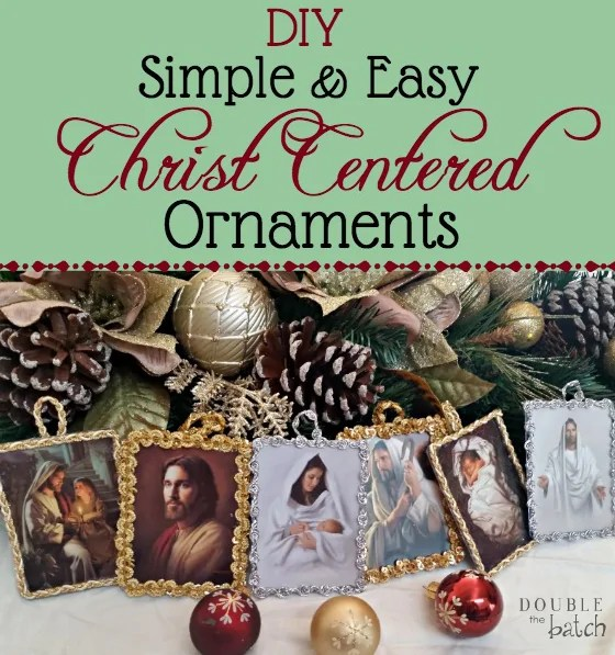 Handmade Christmas Ornament Religious Ornament Icon: DIY Simple And Easy Christ Centered Ornaments