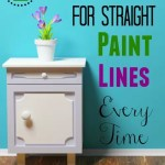 How to Make Your Paint Lines Straight