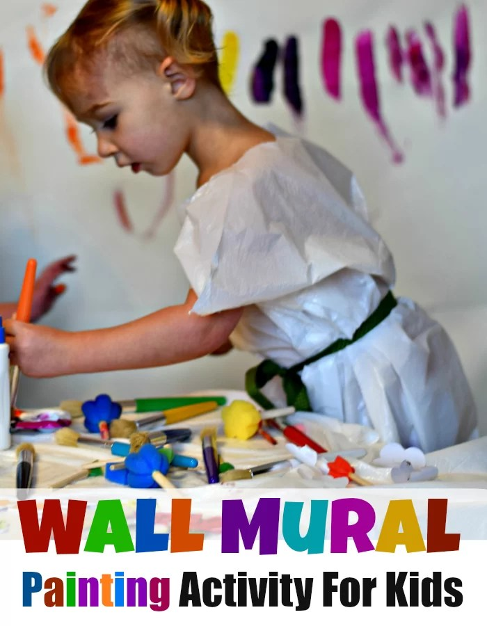 Wall Mural Painting for Kids