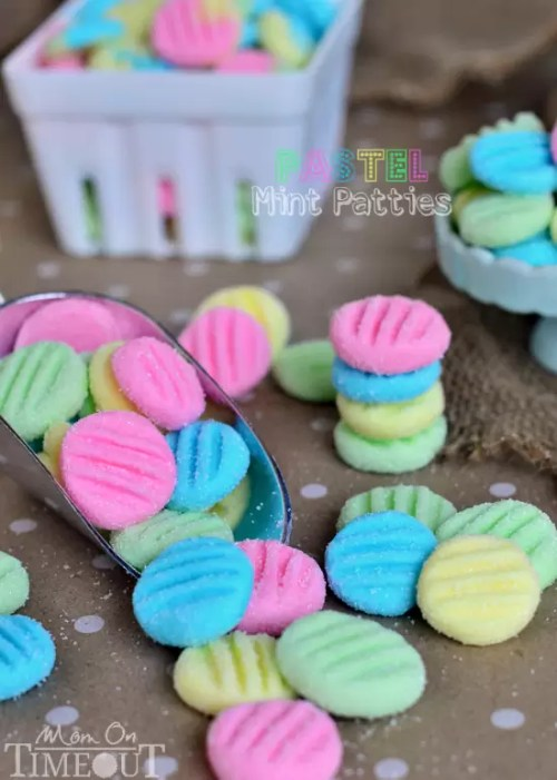 Pastel Mint Patties from Mom on Time Out