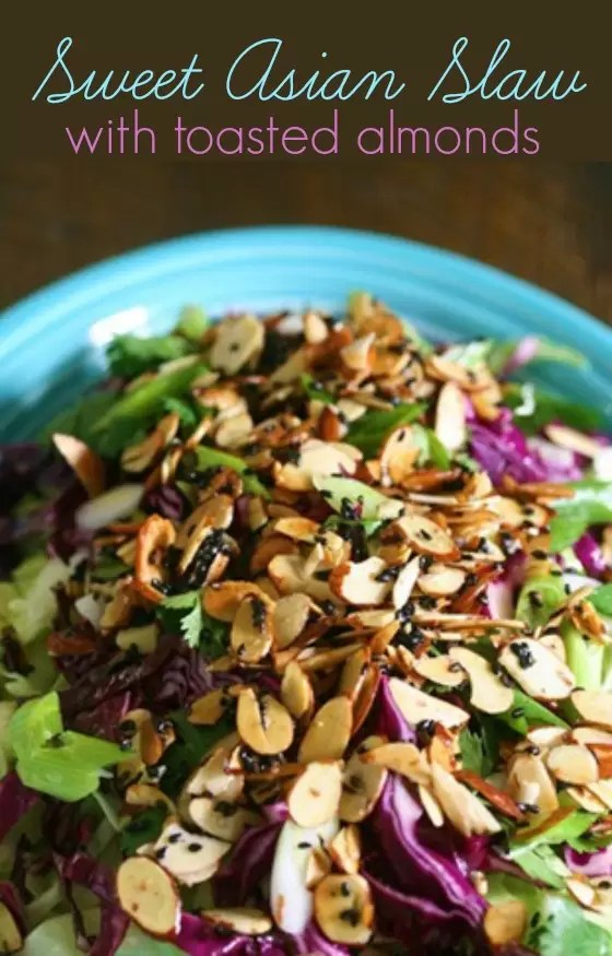 sweet Asian slaw
