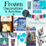 The Best Frozen Themed Decorations and Activities