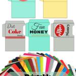 DIY Giftcard Holder Printables