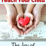 How to Teach Your Child the Joy of Giving