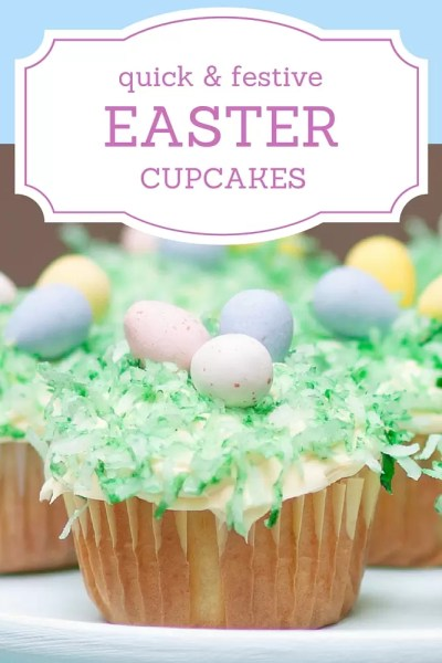Easy and Festive Easter Cupcakes