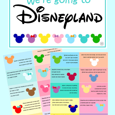 DISNEY THEMED SCAVENGER HUNT- FREE Clues Featuring Your Child's Favorite Characters!