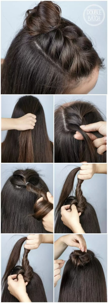 Half Braid Tutorial + Video hairstyle tutorial Included