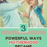 How I Became a More Happy Mom (3 Tips)